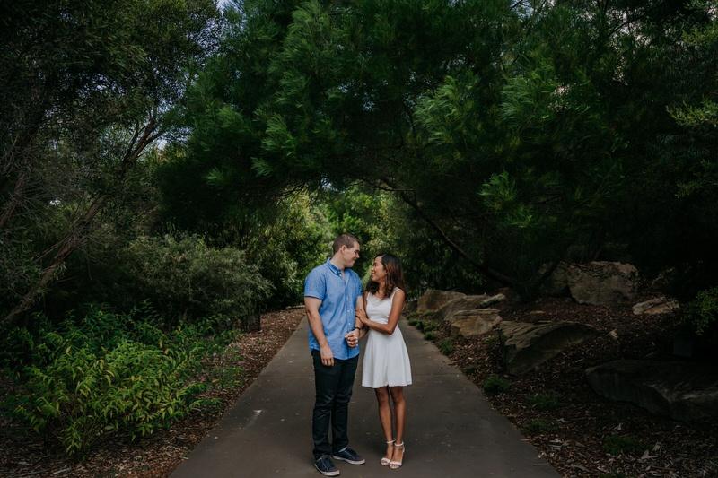 ana-matt-engagement-shoot-mt-annan-botanic-gardens-8