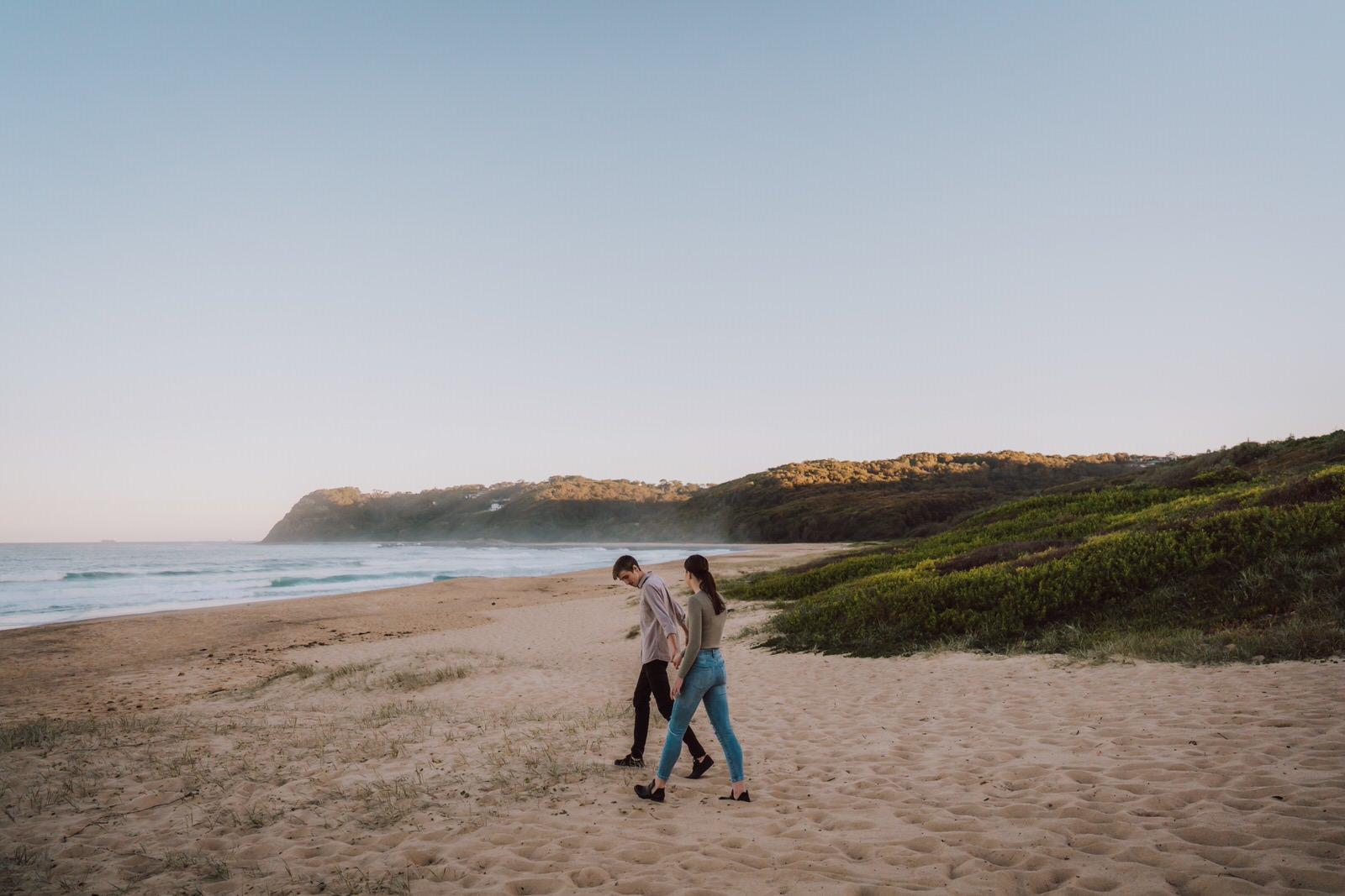 samantha-mitchell-dudley-beach-newcastle-engagement-10