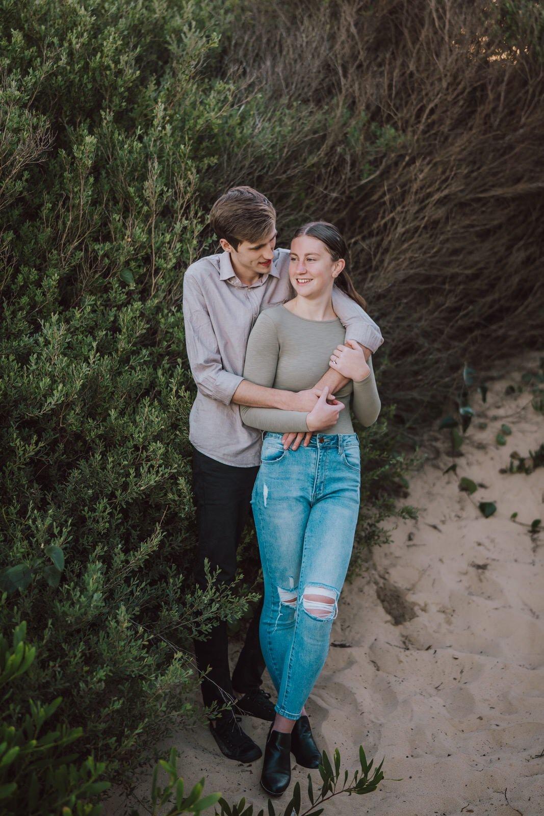 samantha-mitchell-dudley-beach-newcastle-engagement-7